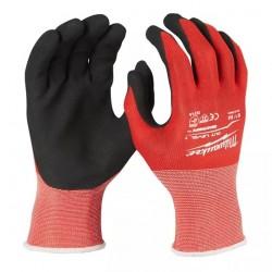 Rękawice odporne na przecięcia - poziom ochrony 1